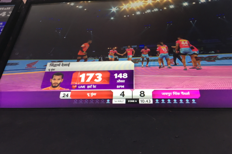 Athlete Fitness Monitoring in Pro Kabaddi – My Experiences