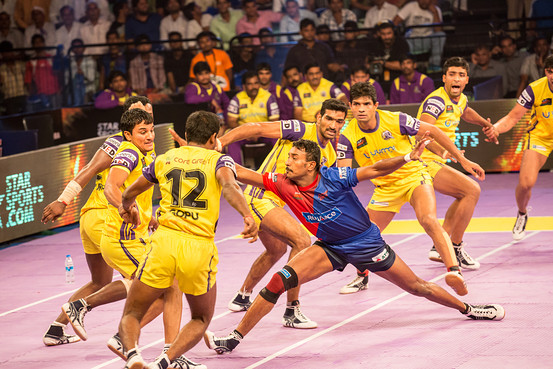Analysis of Raiders in Pro Kabaddi