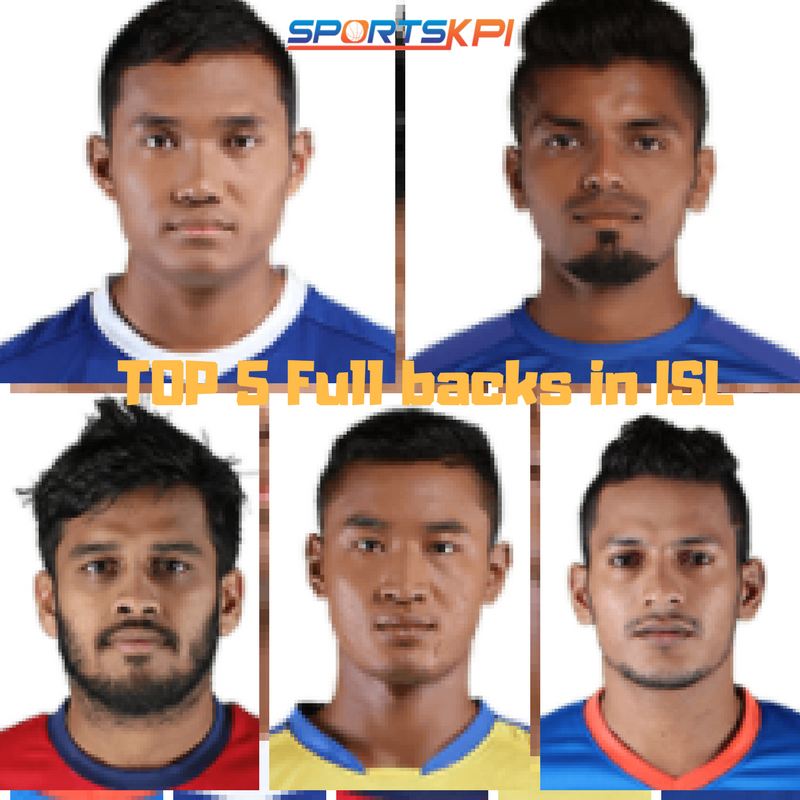 Top 5 Fullbacks in ISL 2017-18 – Analytical Perspective