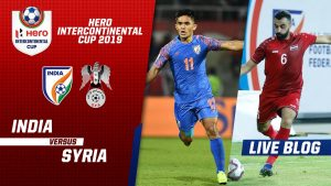 Football Match Analysis : India 1 : 1 Syria