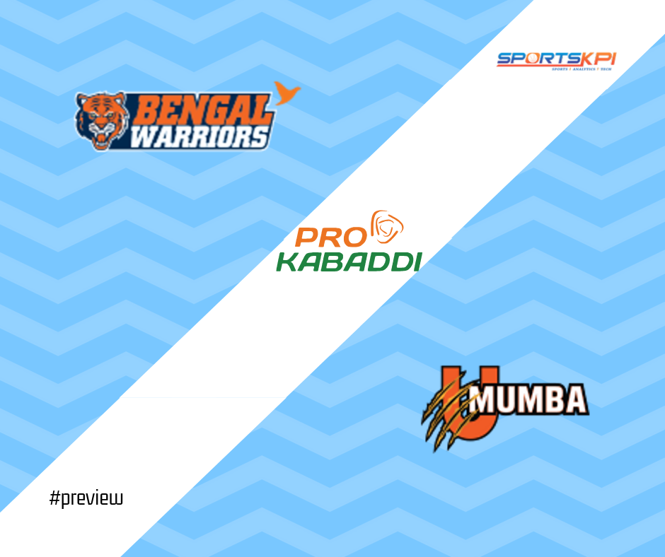 PKL7 Semi-Final Preview: Bengal Warriors vs. U Mumba