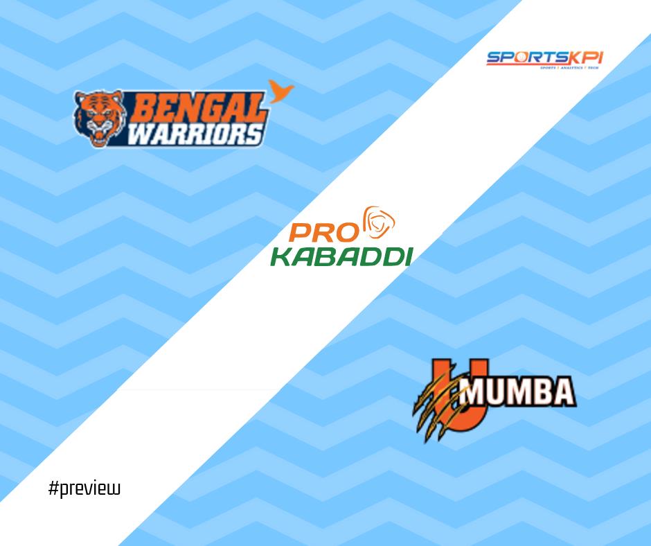 PKL7 Semi-Final Preview: Bengal Warriors vs. U Mumba