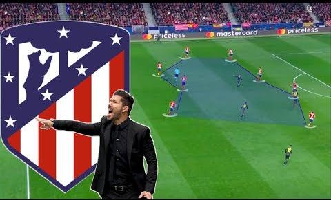 Atletico Madrid- Analysis of Zonal Defensive Block